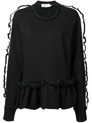 Preen By Thornton Bregazzi 'Enid' Sweatshirt Black