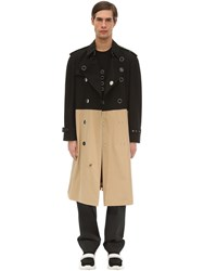 Burberry Cotton Canvas Trench Coat Array 0X5784760
