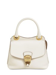 Tod's Leather Top Handle Bag Mousse