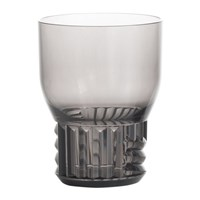 Kartell Trama Wine Glass Smoke Grey