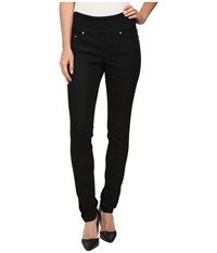 Jag Jeans Nora Pull On Skinny Knit Denim In Black Rinse Black Rinse Women's Jeans