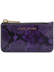 Marc Jacobs Key Pouch Women Leather One Size Pink Purple