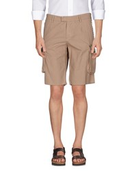 The Editor Trousers Bermuda Shorts Sand