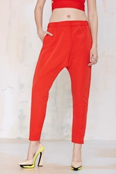 Nasty Gal Cameo West Coast Trouser Red