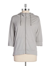 Bench Hooded Zip Up Jacket Grey