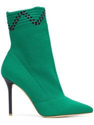 Malone Souliers Mariah Boots Green