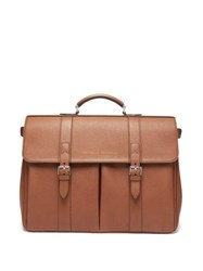 Brunello Cucinelli Leather Holdall Brown