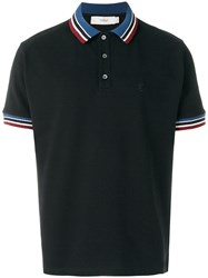 Pringle Of Scotland Classic Polo Shirt Black