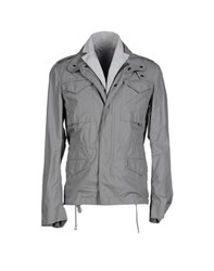 Gold Case By Rocco Fraioli Coats And Jackets Jackets Men Grey