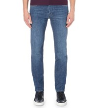 Ted Baker Selsyn Regular Fit Straight Jeans Light Wash