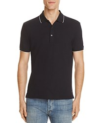 Hugo Delorian Tipped Slim Fit Polo Shirt Navy