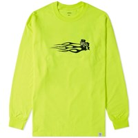 Bedwin And The Heartbreakers Long Sleeve Clarence Tee Green