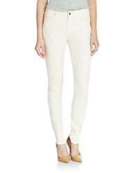 7 For All Mankind Skinny Pants Winter White