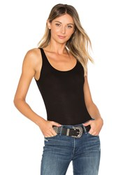 Michael Lauren Mason Basic Rib Tank Black