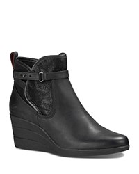 Ugg Emalie Waterproof Wedge Booties Black
