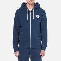 Converse Men's Full Zip Hoody Nighttime Navy