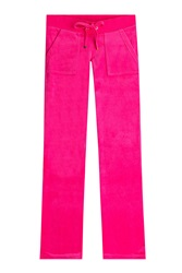 Juicy Couture Velour Track Pants Pink