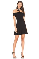 Eight Sixty Off Shoulder Dress Black