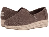Skechers Highlights Taupe Women's Flat Shoes