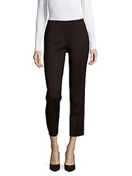 M Missoni Tapered Solid Cropped Pants Black