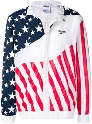 Reebok Flag Lightweight Jacket White
