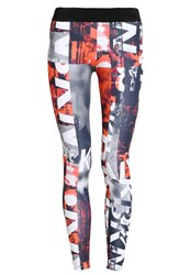 Brooklyn's Own By Rocawear Leggings Black Red