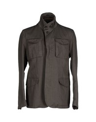 Hogan Coats And Jackets Jackets Men Military Green