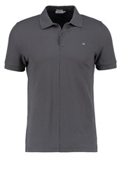 J. Lindeberg J.Lindeberg Rubi Slim Fit Polo Shirt Dark Grey