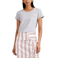 Maison Labiche Amour Cotton T Shirt Gray
