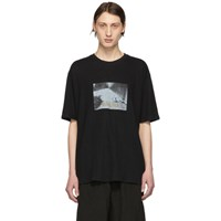 Song For The Mute Black Oversized Pool T Shirt