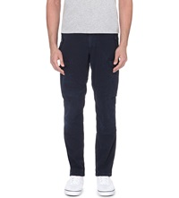 Ralph Lauren Regular Low Rise Cotton Trousers Aviator Navy