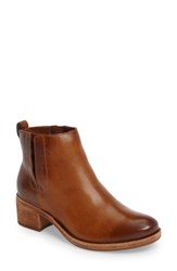 Kork Easer Women's Ease Mindo Chelsea Bootie Brown Leather