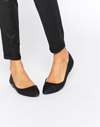Oasis Snake Effect Pointed Pump Black
