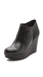 Studio Pollini Wedge Booties Nero