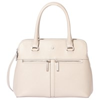 Modalu Pippa Small Leather Grab Bag Shark