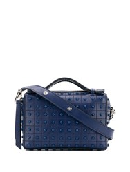 Tod's Small Gommini Shoulder Bag Blue