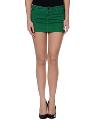 Paul Frank Skirts Mini Skirts Women Green