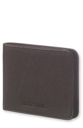 Moleskine Men's Lineage Leather Wallet Black