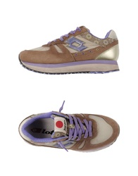 Lotto Leggenda Low Tops And Trainers Khaki