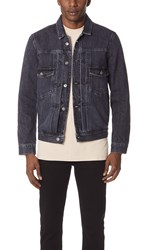 Tom Wood Denim Jacket Old Black
