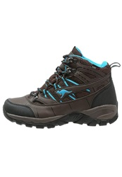 Kangaroos Outdoor Walking Boots Dark Brown Smaragd