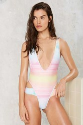 Lee Lani The Sunset Plunging Swimsuit