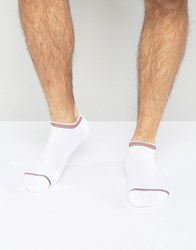 Tommy Hilfiger American Heritage Trainer Sock White