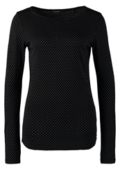 Marc O'polo Long Sleeved Top Combo Mottled Black