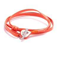 Jam Mmxiv Orange Multi Wrap Bracelet Yellow Orange