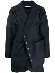 Jacquemus Layered Short Coat 60