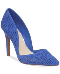 Jessica Simpson Charie D'orsay Dress Pumps Women's Shoes Poppy Blue