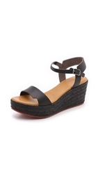 Coclico Nectar Wedge Sandals Black Black