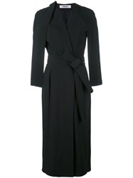 Chalayan Judo Wrap Dress Black