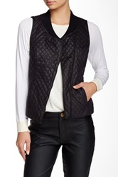Tart Vegan Leather Aislin Vest Black